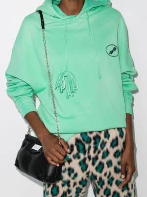 We11Done logo-print hoodie