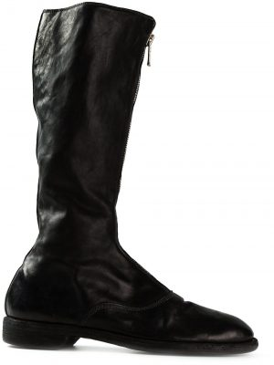 Guidi 410 Front Zip Army Boots