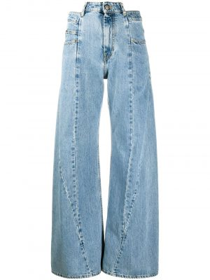 Maison Margiela Décortiqué wide-leg jeans