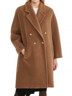 Maxmara 20FW 10160109 001 BAIOCCO Camel and wool coat Camel