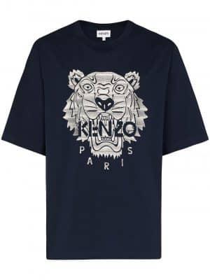Kenzo tiger motif t-shirt