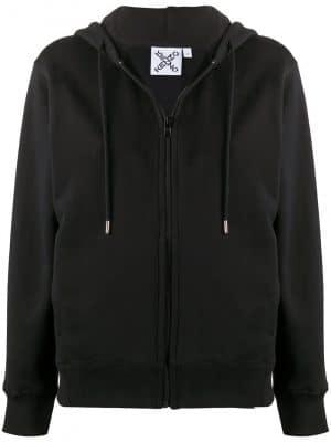 Kenzo cross logo hoodie