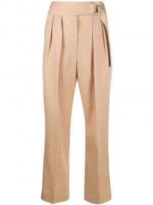 Jil Sander high-waist cropped trousers