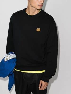Kenzo tiger emblem sweatshirt