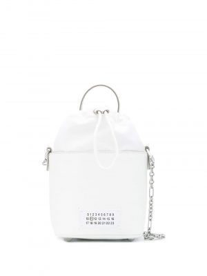 Maison Margiela logo patch bucket bag
