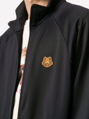 Kenzo Tiger crest zipped jacket
