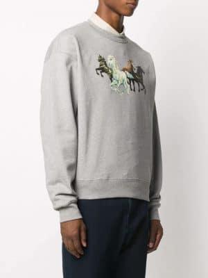 Kenzo horse print sweatshirt