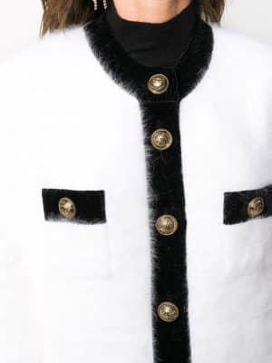 Balmain single-breasted short coat