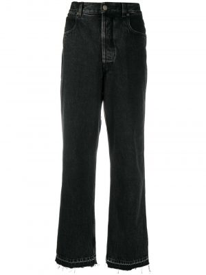 Golden Goose raw edge wide-leg jeans