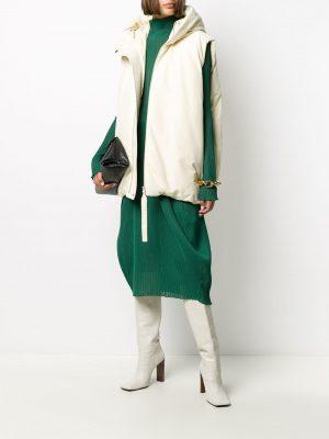 Jil Sander mid-length jersey skirt