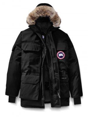 Canada Goose fur trim expedition parka