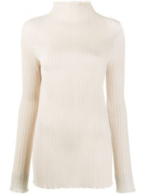 Jil Sander ribbed high-neck top