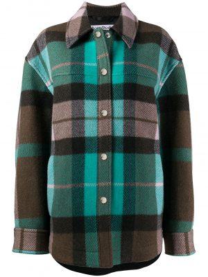 Acne Studios checked shirt jacket