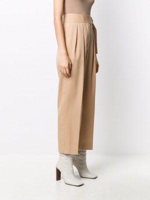 Jil Sander high-waist cropped trousers
