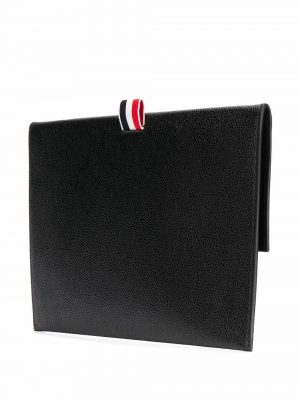 Thom Browne folio pebble grain pouch