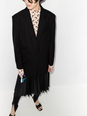 Maison Margiela oversized embroidered blazer