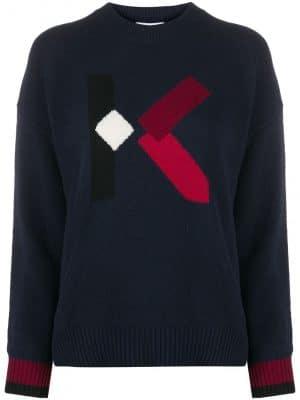 Kenzo Jumper red logo/Dark Blue