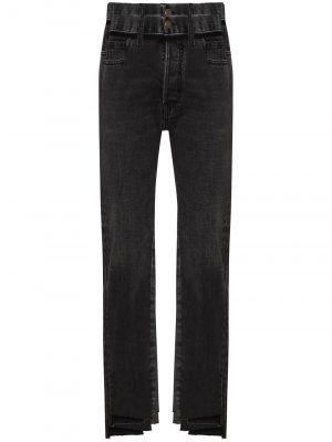 Maison Margiela panelled step-hem jeans