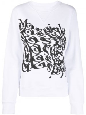 Maison Margiela logo print sweatshirt