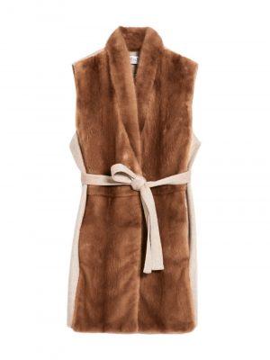 MaxMara PINZA fur vest