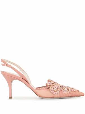 Rene Caovilla crystal embellished pointed pumps