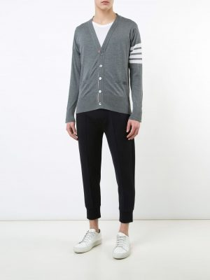 Thom Browne wool v-neck cardigan