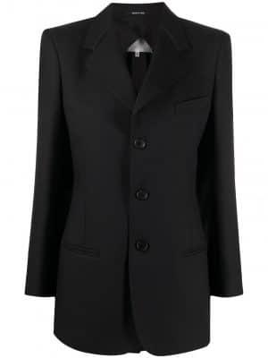 Maison Margiela 4-stitch notch lapels blazer