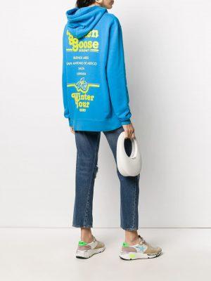 Golden Goose logo-print hoodie