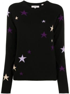 Chinti & Parker star print jumper