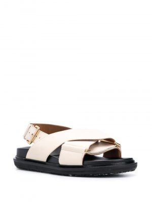 Marni Fussbett criss-cross sandals
