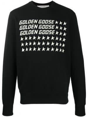 Golden Goose logo-print sweatshirt