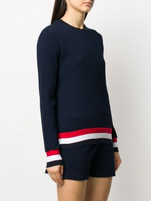 Thom Browne ribbed knit jumper