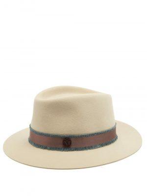 Maison Michel André felt trilby hat