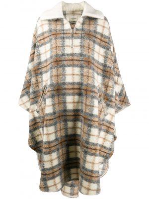 Isabel Marant Etoile oversized checked cape