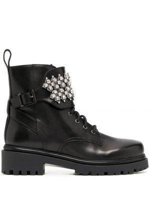 Rene Caovilla embellished ankle boots