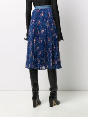 Philosophy floral-print pleated skirt
