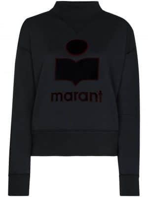 Isabel Marant Etoile 20FW SW0033 20A054E MOBY sweat shirt Black