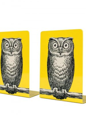 Fornasetti metal bookends