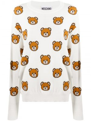 Moschino all-over Teddy Bear jumper