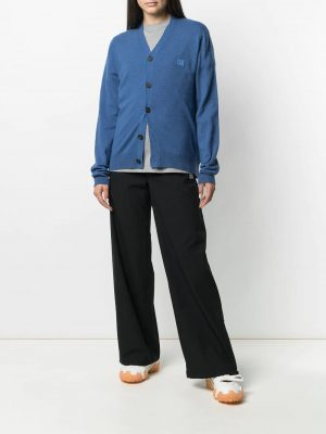 Acne Studios face-patch cardigan