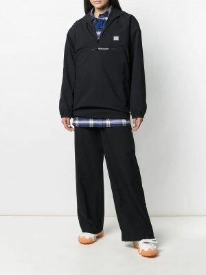 Acne Studios face patch hooded jacket