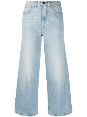 Toteme SS21 211-230-742 425 Flare Fit Denim Jeans Light Blue