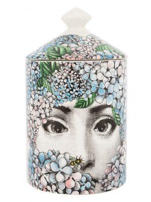 Fornasetti scented candle Ortensia
