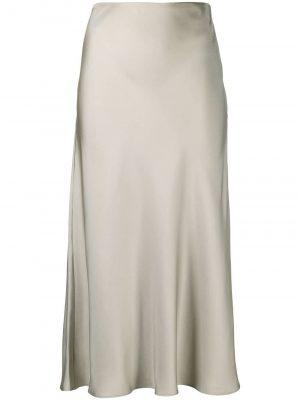 Totême silk pencil skirt