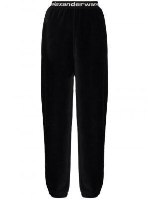 Alexander Wang stretch logo track trousers