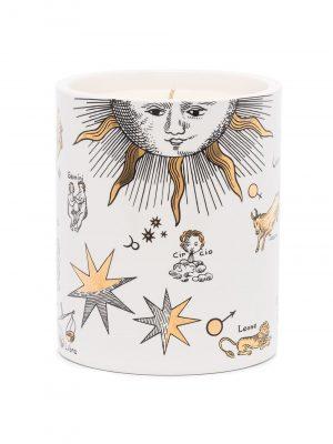 Fornasetti scented candle Astronomici Bianco