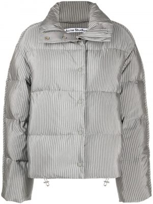 Acne Studios pinstripe puffer jacket