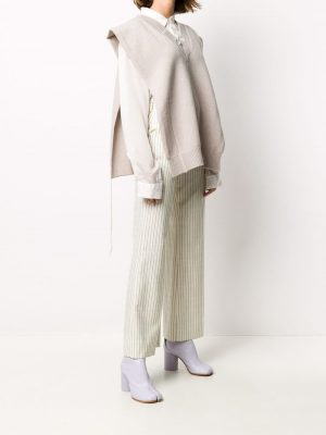Maison Margiela distressed knitted vest