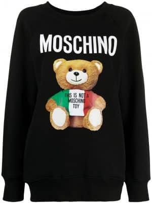 Moschino Teddy Bear logo sweatshirt