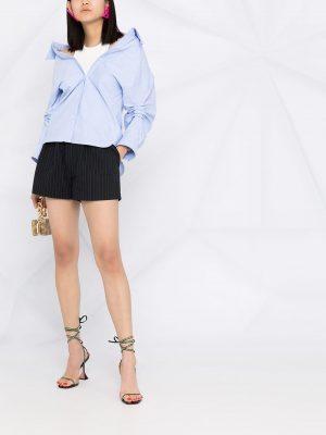 Alexander Wang logo waistband shorts